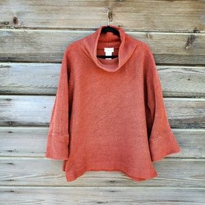 Soft Surroundings - Orange Knit Sweater